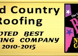Voted Best Roofer!