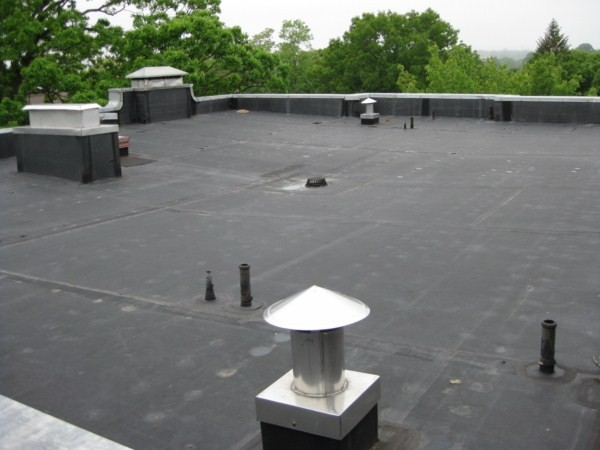 .060 fully adhered EPDM membrane roof system