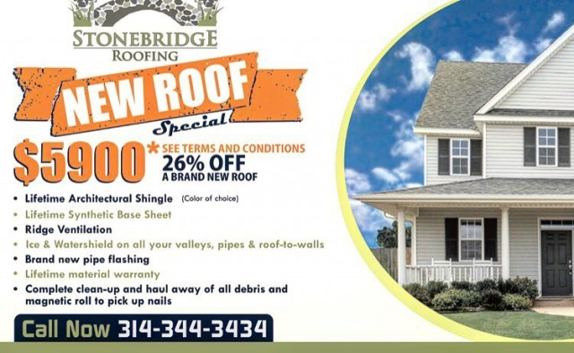 New Roof Special