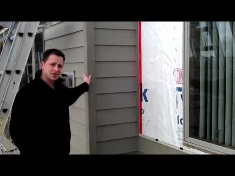 Apex Fiberglass Siding Installation