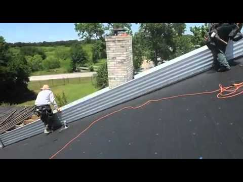Dallas Metal Roofing Installation pt 2
