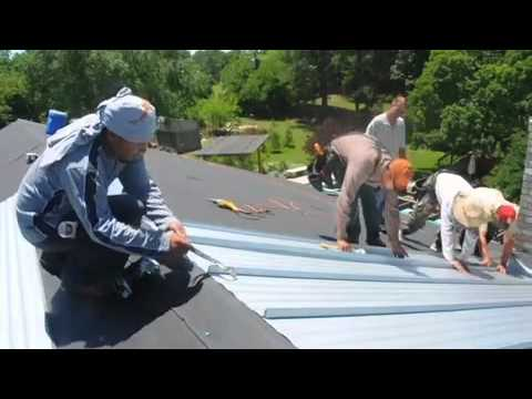 Dallas Metal Roofing Installation pt 1