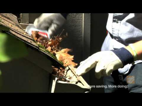 Gutter Cleaning Tips - The Home Depot