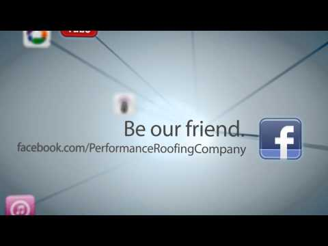 Performance Roofing Social Media Promo